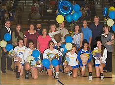2017 San Dimas Varsity Volleyball Senior Night
