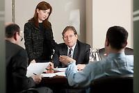 Corporate meeting.
