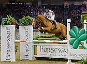 Michael Jung (GER) rides Cruising Guy in the Horseware Indoor Eventing challenge at The Royal Horse Show. TORONTO, CANADA.  November 5 2016