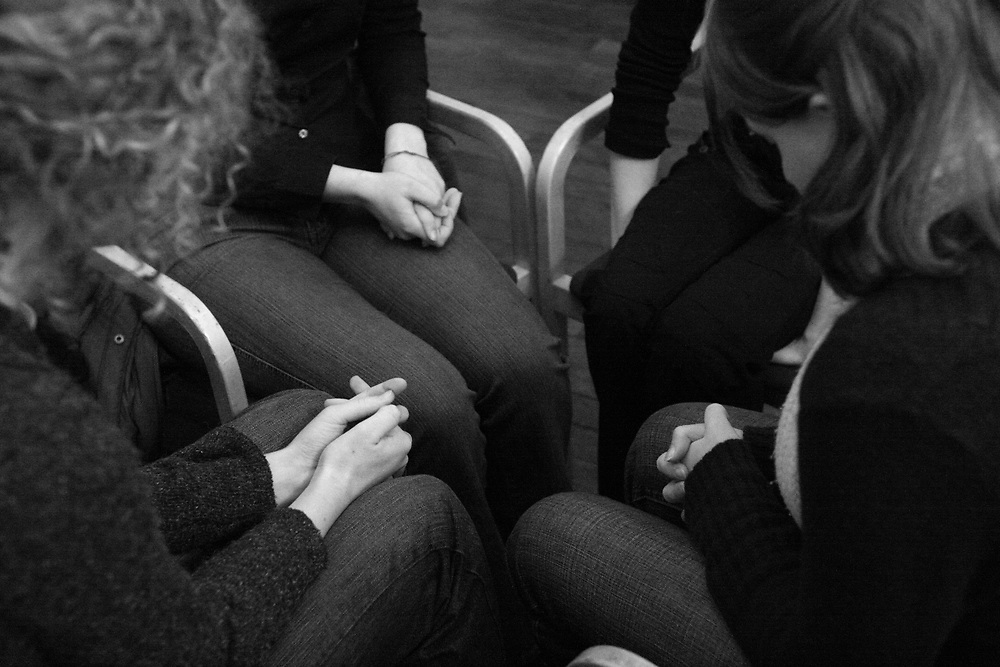 Praying hour of several christian student societies in Groningen // Standup! gebedsuur van christelijke studentenverenigingen in Groningen.