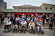 "KUNMING, CHINA - SEPTEMBER 06: (CHINA OUT)<br /> <br /> Flying Tiger Veterans Visit The Cultural Relics Exhibition Of The Flying Tigers In Kunming<br /> <br /> Flying Tiger veterans visit The Cultural Relics\' Exhibition of the ""Flying Tigers\"" at Kunming Museum on September 6, 2015 in Kunming, Yunnan Province of China.<br /> <br /> The 1st American Volunteer Group (AVG) of the Chinese Air Force in 1941–1942, nicknamed the Flying Tigers, was composed of pilots from the United States Army Air Corps (USAAC), Navy (USN), and Marine Corps (USMC), recruited under presidential authority and commanded by Claire Lee Chennault. The shark-faced nose art of the Flying Tigers remains among the most recognizable image of any individual combat aircraft or combat unit of World War II.<br /> ©Exclusivepix Media"