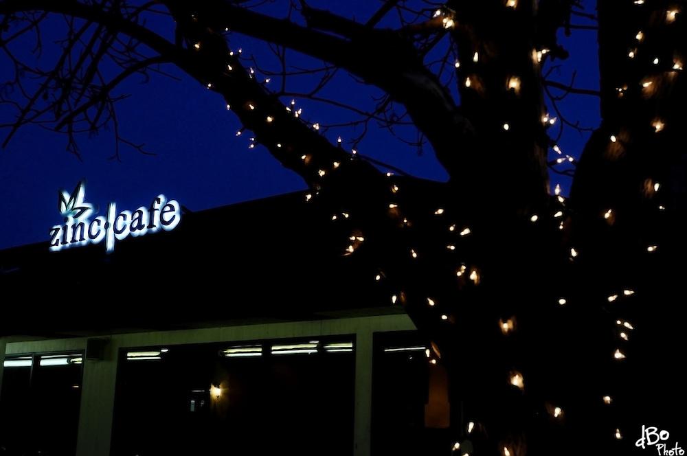 Exterior of Zinc Cafe, Thursday, Jan. 22, 2009 in Medford, NJ. (Photo/Douglas M. Bovitt)