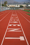 San Clemente High School Track and Football Field