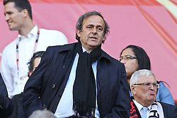 03.07.2010, CAPE TOWN, SOUTH AFRICA,   UEFA President Michel Platini during the Quarter Final, Match 59 of the 2010 FIFA World Cup, Argentina vs Germany held at the Cape Town Stadium EXPA Pictures © 2010, PhotoCredit: EXPA/ nph/  Kokenge