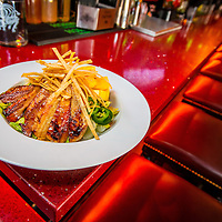 Southwest Mango Chicken at Mezcal Restaurant on Main Street in Riverside, Wednesday, Feb., 25, 2015.  (Eric Reed/For Riverside Magazine)