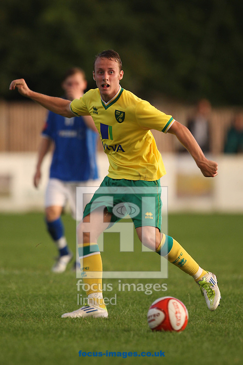 Josh Dawkin of Norwich City during a pre season friendly at New Lodge Stadium, Billericay...Picture by Paul Chesterton/Focus Images Ltd.  07904 640267.4/8/11