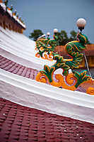 The roof of the Great Divine Temple is both decorative and symbolic.