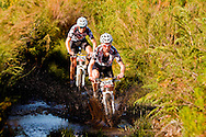 Oak Valley ( Elgin / Grabouw ), SOUTH AFRICA - Stage 7 winners, Lukas and Mathias Fluckiger during the final stage stage seven , 7 , of the Absa Cape Epic Mountain Bike Stage Race between Oak Valley ( Elgin / Grabouw ) and Lourensford on the 28 March 2009 in the Western Cape, South Africa..Photo by Karin Schermbrucker  /SPORTZPICS