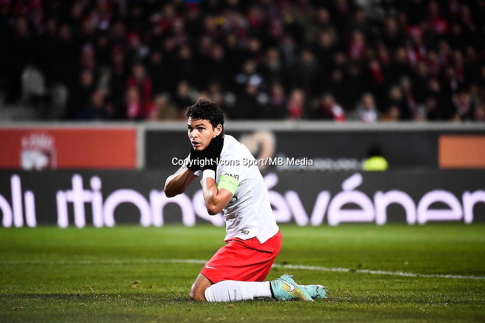 Thiago SILVA - 03.12.2014 - Lille / Paris Saint Germain - 16eme journee de Ligue 1<br />Photo : Fred Porcu / Icon Sport