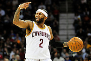 Feb. 11, 2011; Cleveland, OH, USA; Cleveland Cavaliers point guard Mo Williams (2) yells to his team during the second quarter against the Los Angeles Clippers at Quicken Loans Arena. Mandatory Credit: Jason Miller-US PRESSWIRE
