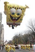 26 November 2009, NY, NY- Sponge Bob at The 2009 Macy's Day Parade held on November 26, 2009 in New York City. Terrence Jennings/Sipa