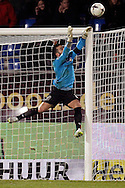 Onderwerp/Subject: Willem II - Eredivisie<br /> Reklame:  <br /> Club/Team/Country: <br /> Seizoen/Season: 2014/2015<br /> FOTO/PHOTO: Goalkeeper Kostas LAMPROU of Willem II makes a save. (Photo by PICS UNITED)<br /> <br /> Trefwoorden/Keywords: <br /> #04 $64 ±1401974349562<br /> Photo- & Copyrights © PICS UNITED <br /> P.O. Box 7164 - 5605 BE  EINDHOVEN (THE NETHERLANDS) <br /> Phone +31 (0)40 296 28 00 <br /> Fax +31 (0) 40 248 47 43 <br /> http://www.pics-united.com <br /> e-mail : sales@pics-united.com (If you would like to raise any issues regarding any aspects of products / service of PICS UNITED) or <br /> e-mail : sales@pics-united.com   <br /> <br /> ATTENTIE: <br /> Publicatie ook bij aanbieding door derden is slechts toegestaan na verkregen toestemming van Pics United. <br /> VOLLEDIGE NAAMSVERMELDING IS VERPLICHT! (© PICS UNITED/Naam Fotograaf, zie veld 4 van de bestandsinfo 'credits') <br /> ATTENTION:  <br /> © Pics United. Reproduction/publication of this photo by any parties is only permitted after authorisation is sought and obtained from  PICS UNITED- THE NETHERLANDS
