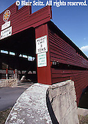 Dreidelbis covered bridge, near Route 143, built in 1869, Berks Co., PA