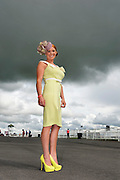 03/08/2012.Anna de Paor from Galway at the Friday evening meeting of the Galway Races. Photo:Andrew Downes