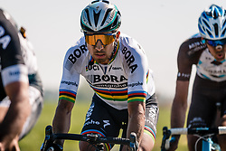 SAGAN Peter in the peloton during the 115th Paris-Roubaix (1.UWT) from Compiègne to Roubaix (257 km) at cobblestones sector 17 from Hornaing to Wandignies, France, 9 April 2017. Photo by Pim Nijland / PelotonPhotos.com | All photos usage must carry mandatory copyright credit (Peloton Photos | Pim Nijland)