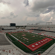 TDECU stadium on the campus of the University of Houston is seen.<br /> <br /> Todd Spoth for The New York Times.