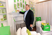 Swiffer spotlights how cleaning can be easier with the help of their famous Big Green Box, Wednesday, July 23, 2014, in New York. (Photo by Diane Bondareff/Invision for Swiffer)
