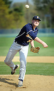 SGHOST22P<br /> Devon Prep pitcher Danny Bruce throws a pitch against Holy Ghost Prep in the first inning Thursday April 21, 2016 at Holy Ghost Prep in Bensalem, Pennsylvania. (William Thomas Cain/For The Inquirer)