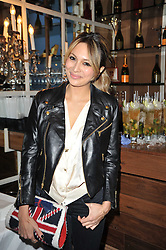 ZARA MARTIN at a party to celebrate the publication of her new book - Kelly Hoppen: Ideas, held at Beach Blanket Babylon, 45 Ledbury Road, London W11 on 4th April 2011.