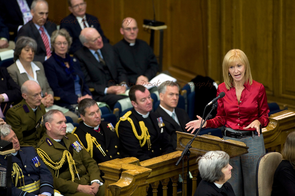 The General Assembly of the Church of Scotland 2010. BBC Scotland presenter Jackie Bird addresses the General Assembly of the Church of Scotland.