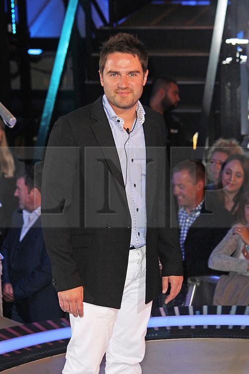 © Licensed to London News Pictures. 12/09/2014, UK. George Gilbey, Celebrity Big Brother Summer 2014 - Live Final, Elstree Studios, Elstree UK, 12 September 2014. Photo credit : Brett D. Cove/Piqtured/LNP
