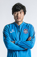 **EXCLUSIVE**Portrait of Chinese soccer player Zhou Liao of Tianjin TEDA F.C. for the 2018 Chinese Football Association Super League, in Tianjin, China, 28 February 2018.