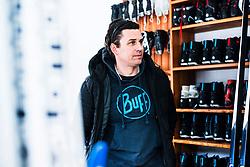 Portrait of Matej Soklic during the interview on January 28, 2020 in Ratece, Kranjska Gora, Slovenia. Photo by Peter Podobnik / Sportida