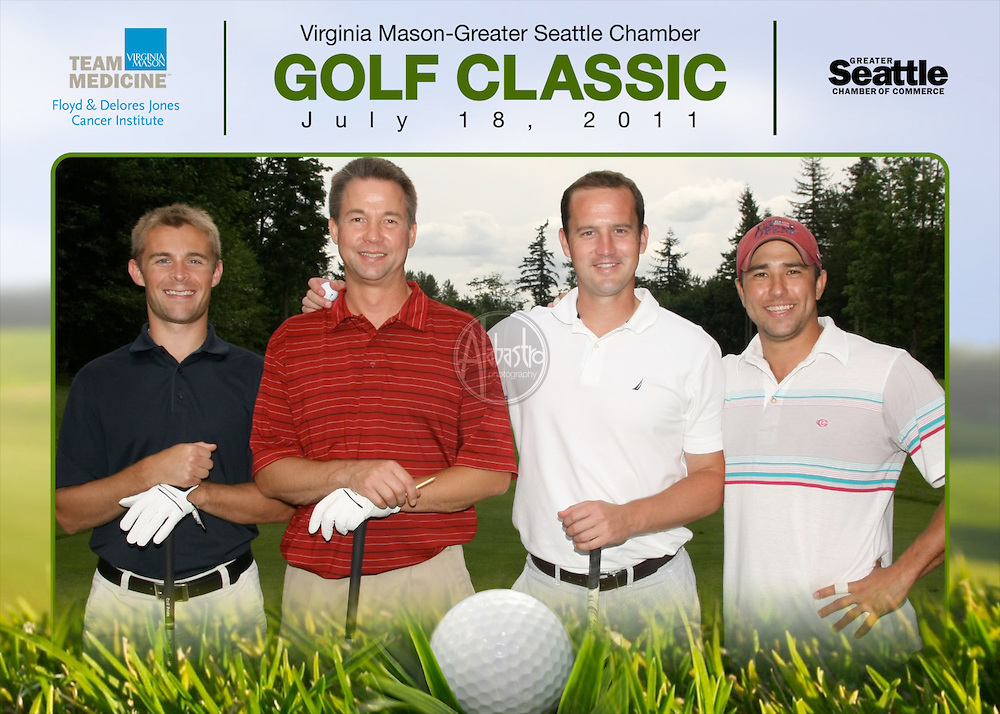 Greater Seattle Chamber of Commerce Golf Classic July 2011.