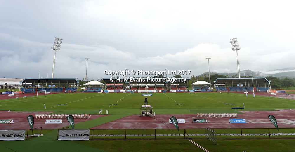 23.06.17 - Samoa v Wales -<br /> General view of Apia Park.<br /> Copyright photo: Ben Evans / www.photosport.nz
