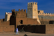 Tafraout, the Illigh kasbah for centuries ruled the caravan routes of Western Sahara.