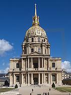 Paris, Invalides church, hotel des invalides, France