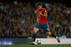 March 23, 2019 - Valencia, Valencia, Spain - Inigo Martinez of Spain controls the ball during the 2020 UEFA European Championships group F qualifying match between Spain and Norway at Estadi de Mestalla on March 23, 2019 in Valencia, Spain. (Credit Image: © Jose Breton/NurPhoto via ZUMA Press)