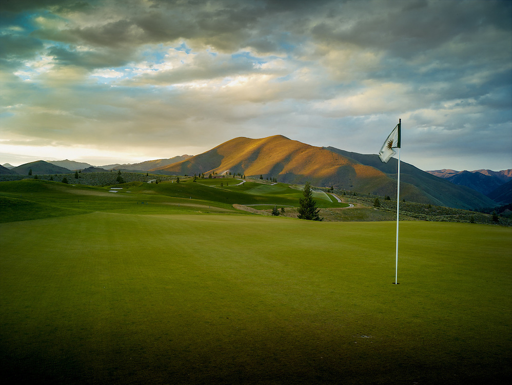 The White Cloud Nine golf course at Sun Valley.
