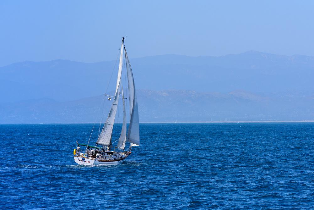 Sailboat, Ventura, California
