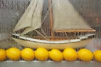 Sailboat and lemons, Chambery, France 2006