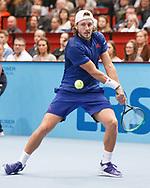 LUCAS POUILLE (FRA)<br /> <br /> Tennis - ERSTE BANK OPEN 2017 - ATP 500 -  Stadthalle - Wien -  - Oesterreich  - 29 October 2017. <br /> &copy; Juergen Hasenkopf