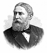Rene Francois Armand Sully-Prudhomme (1839-1907) French poet, 1902. He was awarded the first Nobel prize for Literature in 1901.  Engraving.
