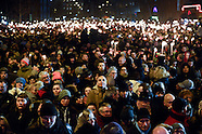 Forty thousand rally in Copenhagen to commemorate shooting victims