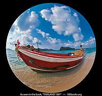 Fisherman and Boat on Koh Rayang
