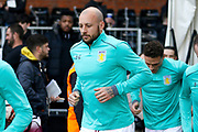 Aston Villa defender Alan Hutton (21) during the EFL Sky Bet Championship match between Fulham and Aston Villa at Craven Cottage, London, England on 17 February 2018. Picture by Andy Walter.