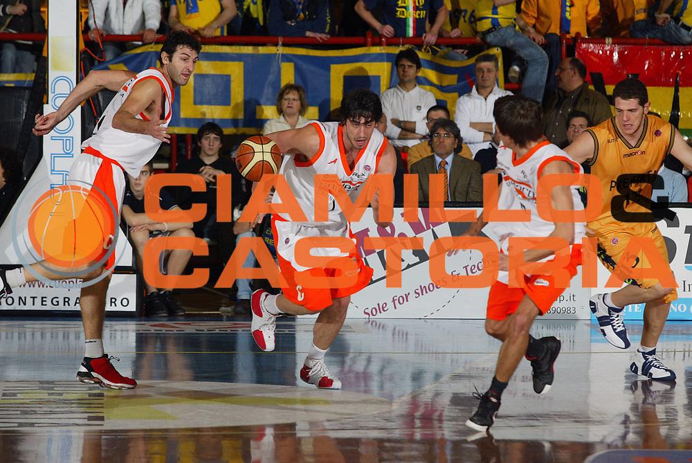 DESCRIZIONE : Porto San Giorgio Lega A1 2006-07 Premiata Montegranaro Snaidero Udine <br /> GIOCATORE : Gigena Zacchetti <br /> SQUADRA : Snaidero Udine <br /> EVENTO : Campionato Lega A1 2006-2007 <br /> GARA : Premiata Montegranaro Snaidero Udine <br /> DATA : 24/02/2007 <br /> CATEGORIA : Curiosita <br /> SPORT : Pallacanestro <br /> AUTORE : Agenzia Ciamillo-Castoria