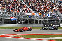 October 21, 2018 - Austin, United States - Motorsports: FIA Formula One World Championship; 2018; Grand Prix; United States, FORMULA 1 PIRELLI 2018 UNITED S GRAND PRIX , Circuit of The Americas#7 Kimi Raikkonen (FIN, Scuderia Ferrari) (Credit Image: © Hoch Zwei via ZUMA Wire)