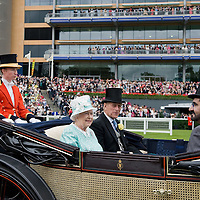 at Ascot Racecourse on June 18, 2009 in Ascot, England.