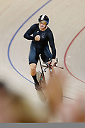 Eddie Dawkins of New Zealand clocks a new Commonwealth Games Record in the Men's 1000m Time Trial. Gold Coast 2018 Commonwealth Games, Track Cycling, Anna Meares Velodrome, Brisbane, Australia. 8 April 2018 © Copyright Photo: Anthony Au-Yeung / www.photosport.nz