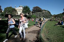 UK ENGLAND BRIGHTON 8SEP16 - Pavilion Gardens in  Brighton town centre.<br /> <br /> jre/Photo by Jiri Rezac<br /> <br /> &copy; Jiri Rezac 2016