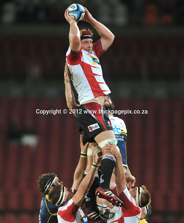 Franco van der Merwe of the Lions <br /> &copy; Esmie Lamprecht/Backpagepix