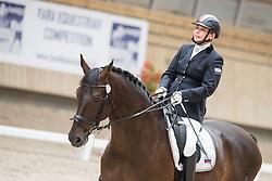 Vinogradova Marina, (RUS), Silva Le Andro<br /> Grade Ia Team Test<br /> Para-Dressage FEI European Championships Deauville 2015<br /> © Hippo Foto - Jon Stroud<br /> 18/09/15