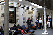 London, United Kingdom. Centre, Umpire Ian LAWSON, gives the briefing, In London RC. Putney, Wingfield Sculls Raced over the Championship Course,  Putney to Mortlake, Thursday  05/11/2009 [Mandatory Credit Peter Spurrier/ Intersport Images]