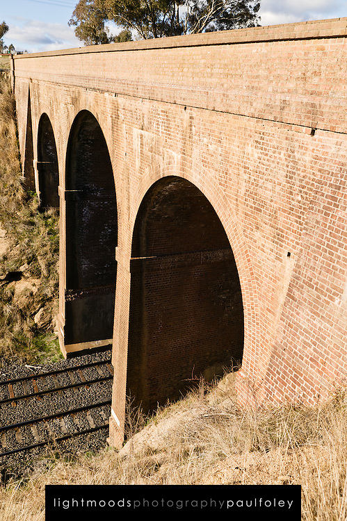 Stone Railway Bridge near Bathurst, NSW, Australia