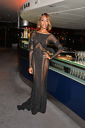 JOURDAN DUNN at the GQ Men Of The Year 2014 Awards in association with Hugo Boss held at The Royal Opera House, London on 2nd September 2014.